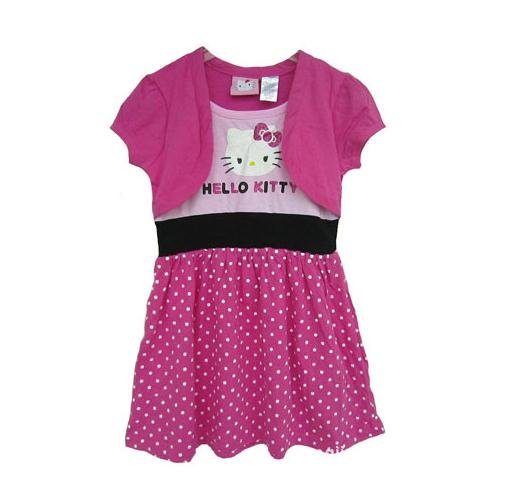 5PCS-LOT-Hello-Kitty-Dress-Pink-Skirt-Girls-T-Shirt-Dress-Girls-Dress-Skirt-Kids-Dress