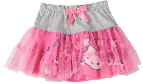 Hello-Kitty-4-6X-Colorblock-Tutu-Overlay-Skirt