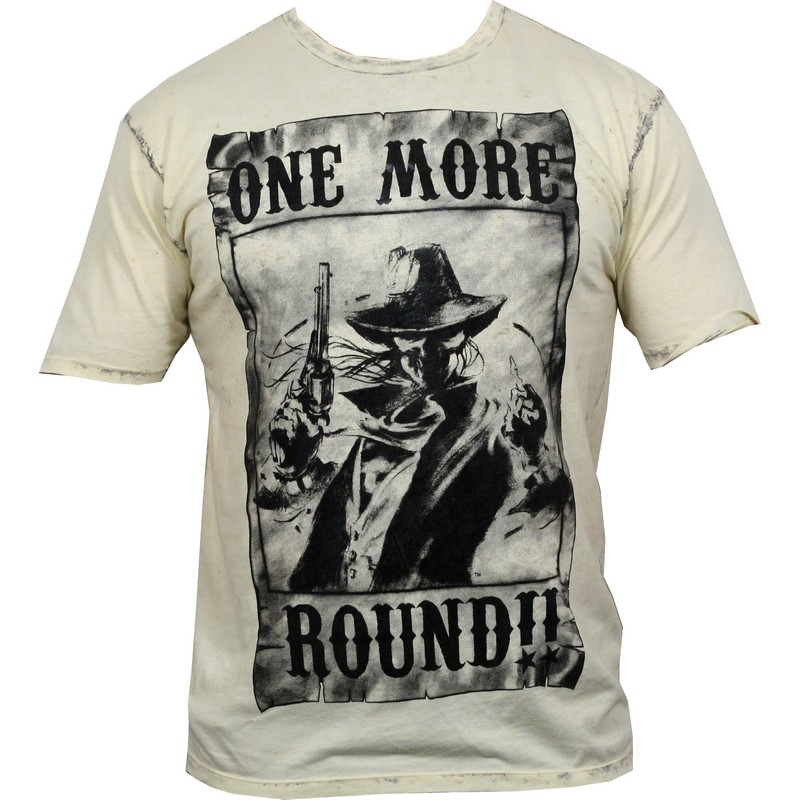 One More Round Wanted T-Shirt