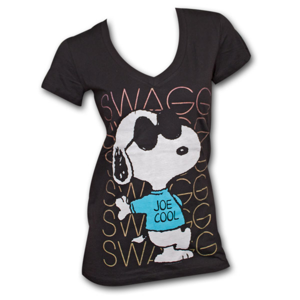 Snoopy_Swag_Black_Juniors_Shirt2_POP